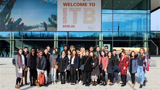 A week-long educational trip to the Internationale Tourismus-Börse Berlin (ITB).
