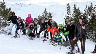 4-day visit to the Spanish, French and Andorran Pyrenees, as part of the class